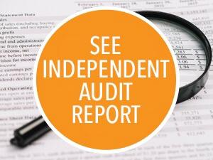 SEE INDEPENDENT AUDIT REPORT